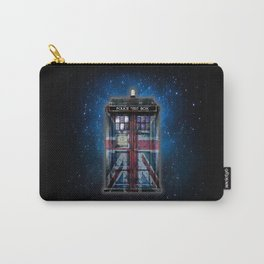 Union Jack Public Phone Booth Carry-All Pouch