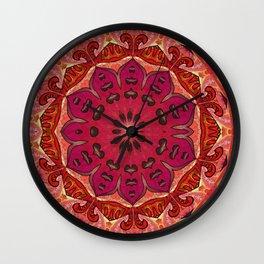 Spark in the Dark Mandala Wall Clock