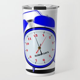 Ringing Loudly Alarm Clock Travel Mug