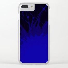Boys in Blue Clear iPhone Case