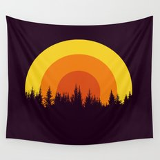summer mountain Wall Tapestry