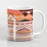 journey Mugs featuring Journey by Sandra Dieckmann