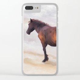 Beach Buddies Clear iPhone Case