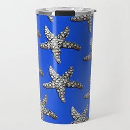 Starfish Blue Travel Mug