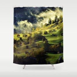 Mountain Landscapes - Jeanpaul Ferro Shower Curtain