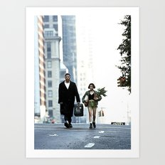 LEON, THE PROFESSIONAL Art Print