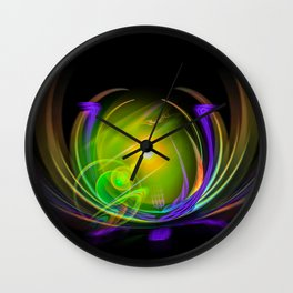 Magical Light and Energy 11 Wall Clock