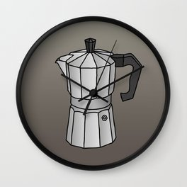 Espresso coffee maker Wall Clock