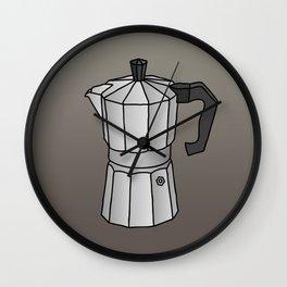 Espresso coffee maker Wall Clock