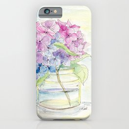 Hydrangea, Still Life iPhone Case