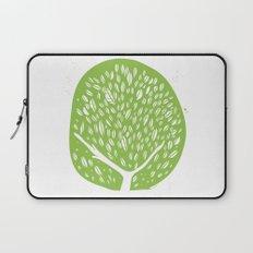 Tree of life - pea green Laptop Sleeve