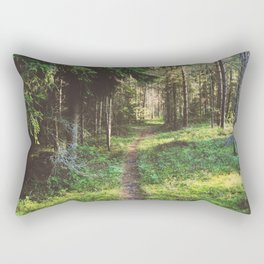 In The Heart Of The Woods Rectangular Pillow