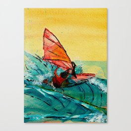 Ho'okipa Dance Canvas Print