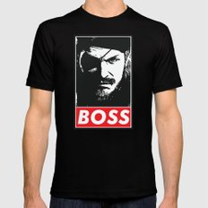 Big Boss - Metal Gear Solid Mens Fitted Tee X-LARGE Black