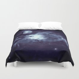 Orion Nebula Deepest Blue Duvet Cover