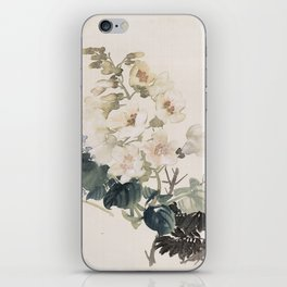 Vintage Chinese Ink and Brush Painting and Calligraphy iPhone Skin