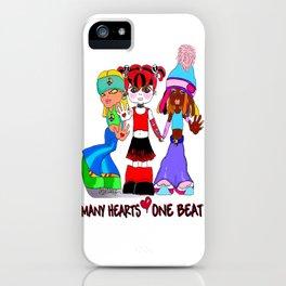 Beat Girlz iPhone Case