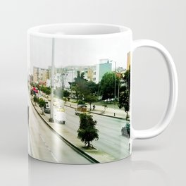 The mobility of the city. Coffee Mug