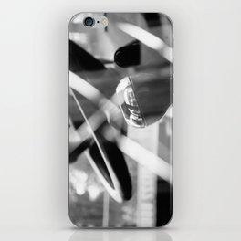 Shatterproof Dreams (JCB Cab Bokeh) iPhone Skin