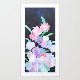 Night Bouquet Art Print