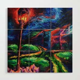 """""""The Crossroad"""" Painting Wood Wall Art"""