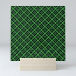 Green Scottish Fabric High Res Mini Art Print