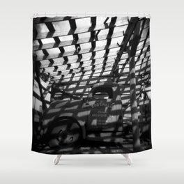 Quarter Tank O' Gas Shower Curtain