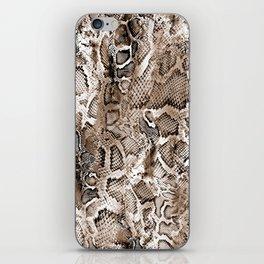 Tan Snakeskin  iPhone Skin