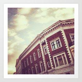 Riga Rooftops Art Print