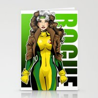 rogue Stationery Cards featuring Rogue by Genevieve Kay