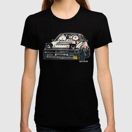 Crazy Car Art 0135 T-shirt