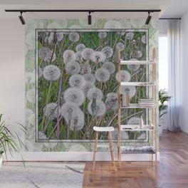 SEEDS OF DANDELION Wall Mural