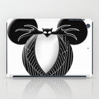 jack skellington iPad Cases featuring Jack Skellington Mouse by Miranda Copeland
