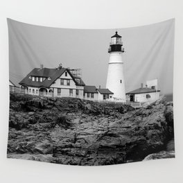 Portland Head Lighthouse Wall Tapestry