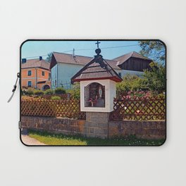 Wayside shrine in summertime | architectural photography Laptop Sleeve