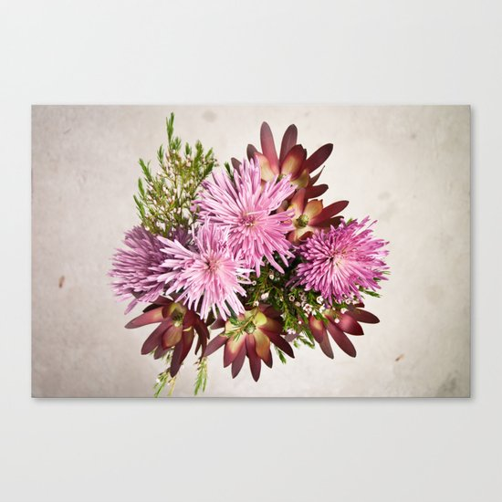 Birthday flowers Canvas Print