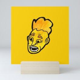 Yellow Head part 1 #eclecticart Mini Art Print