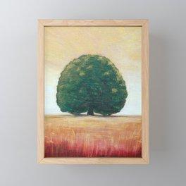 Lone Tree 2 Framed Mini Art Print