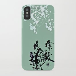 simple pleasures iPhone Case