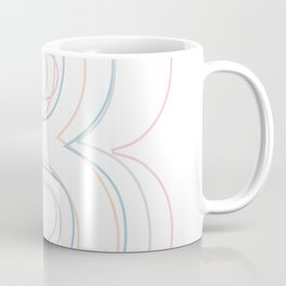 Intertwined Strength and Elegance of the Letter B Coffee Mug