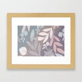 Leaft in Stitches Framed Art Print