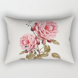 Dragonflies and Roses Rectangular Pillow