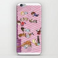the royal tenenbaums iPhone & iPod Skins featuring O Tenenbaums! by JessLane