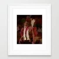 native Framed Art Prints featuring Native by Christy Leigh