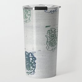When Trapped Water Makes a New Path Travel Mug