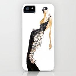 Black|Light iPhone Case