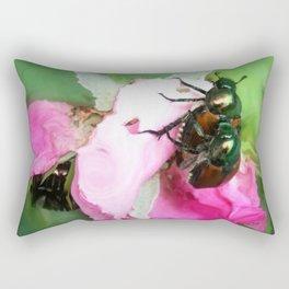 Beetle Invasion Rectangular Pillow