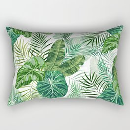 Tropical leaves 3 Rectangular Pillow
