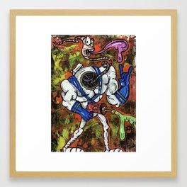 Earthworm jimbo Framed Art Print
