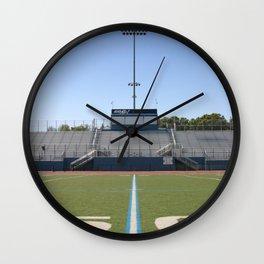 Football Field Fifty Wall Clock